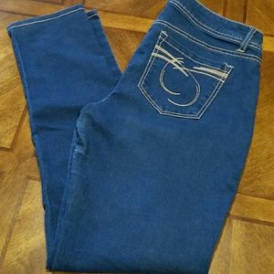 Skinny Blue Jeans by BONGO Size 11